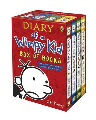 Diary of a Wimpy Kid - Box of Books by Jeff Kinney