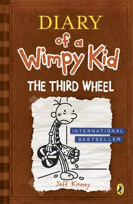 Diary of a Wimpy Kid - The Third Wheel by Jeff Kinney