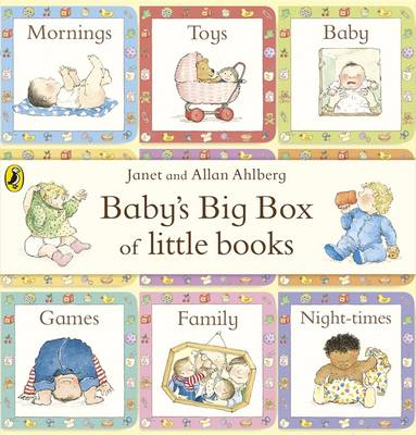 Cover for Baby's Big Box of Little Books by Allan Ahlberg