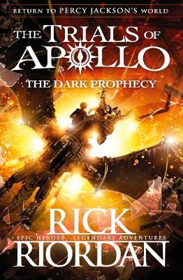 Cover for The Dark Prophecy by Rick Riordan