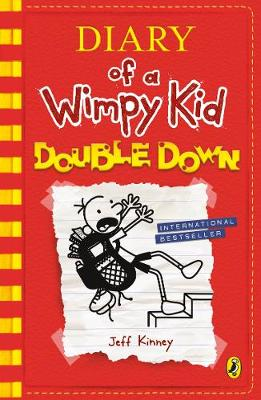 Cover for Diary of a Wimpy Kid: Double Down (Diary of a Wimpy Kid Book 11) by Jeff Kinney