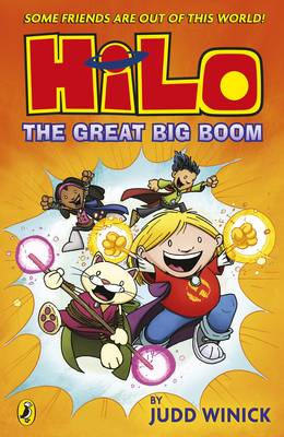 Cover for Hilo: The Great Big Boom by Judd Winick