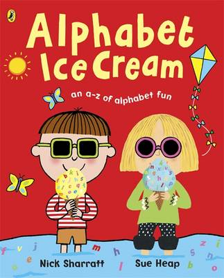 Cover for Alphabet Ice Cream by Sue Heap, Nick Sharratt