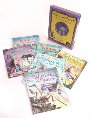 Winnie The Witch Six Book and Two Cd Collection by Valerie Thomas