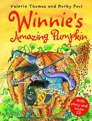 Winnie's Amazing Pumpkin (Book and CD) by Valerie Thomas
