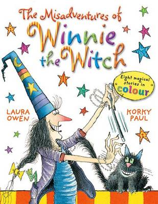 Cover for The Misadventures of Winnie the Witch by Laura Owen