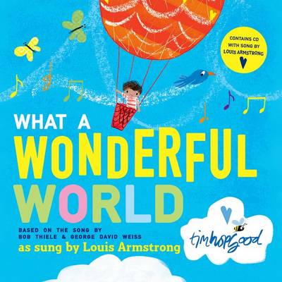 What a Wonderful World Hardback & CD by Bob Thiele, George David Weiss
