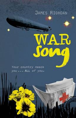 Cover for War Song by James Riordan