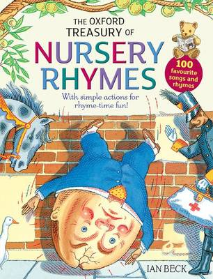 The Oxford Treasury of Nursery Rhymes by Karen King, Sarah Williams