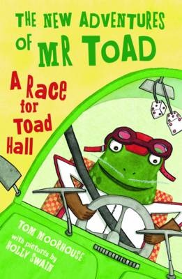 Cover for A Race for Toad Hall by Tom Moorhouse