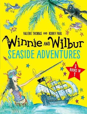 Cover for Winnie and Wilbur: Seaside Adventures by Valerie Thomas