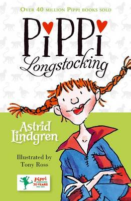Cover for Pippi Longstocking by Astrid Lindgren