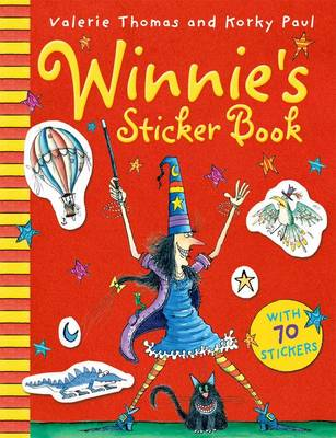 Winnie's Sticker Book by Valerie Thomas