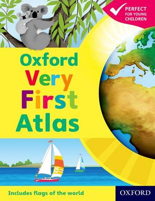 Oxford Very First Atlas by Patrick Wiegand