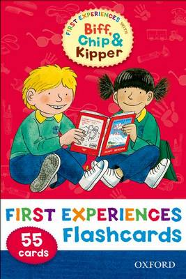 Oxford Reading Tree: Read with Biff, Chip & Kipper First Experiences Flashcards by Roderick Hunt, Annemarie Young