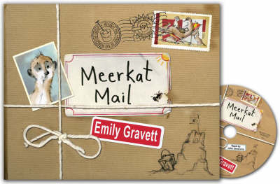 Meerkat Mail - Book & CD by Emily Gravett