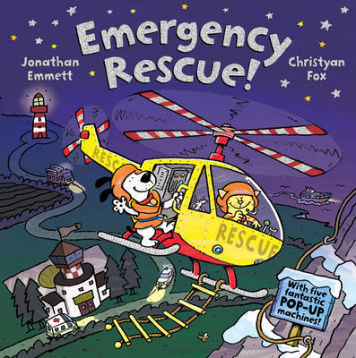 Cover for Emergency Rescue! by Jonathan Emmett