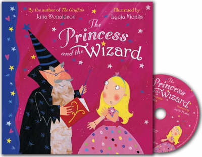 Princess And The Wizard - Book and CD by Julia Donaldson