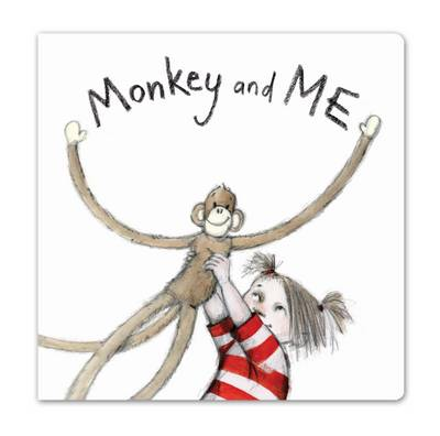 Monkey and Me (Board Book) by Emily Gravett