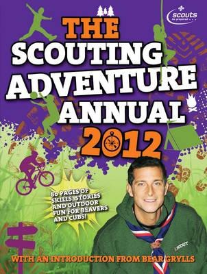 Cover for The Scouting Adventure Annual 2012 by Amanda Li