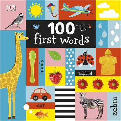 Cover for 100 First Words by DK