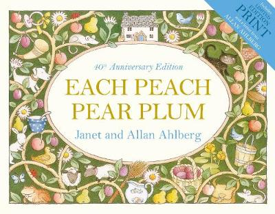 Cover for Each Peach Pear Plum by Allan Ahlberg, Janet Ahlberg