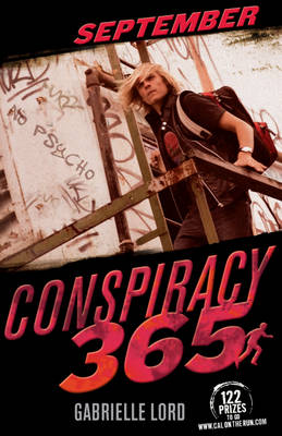 Cover for Conspiracy 365: September by Gabrielle Lord