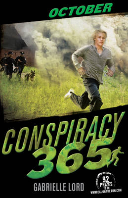 Cover for Conspiracy 365: October by Gabrielle Lord
