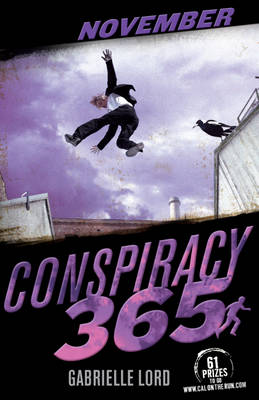 Cover for Conspiracy 365: November by Gabrielle Lord