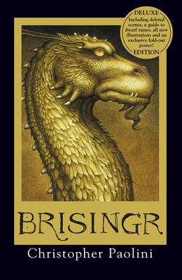 Cover for Brisingr (Deluxe Edition) by Christopher Paolini