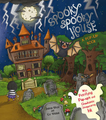 Cover for The Spooky Spooky House by Andrew Weale