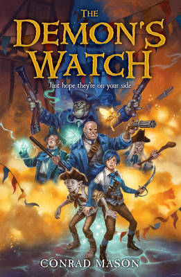Cover for The Demon's Watch Tales of Fayt, Book 1 by Conrad Mason