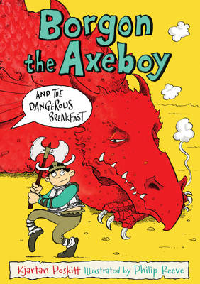 Cover for Borgon the Axeboy and the Dangerous Breakfast by Kjartan Poskitt