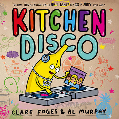 Cover for Kitchen Disco by Clare Foges
