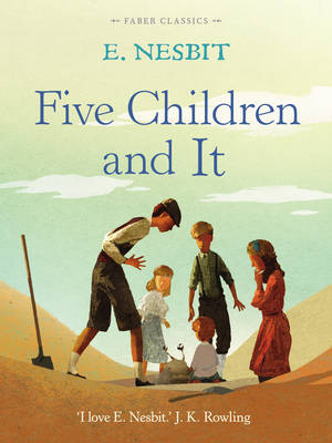 Cover for Five Children and it by E. Nesbit