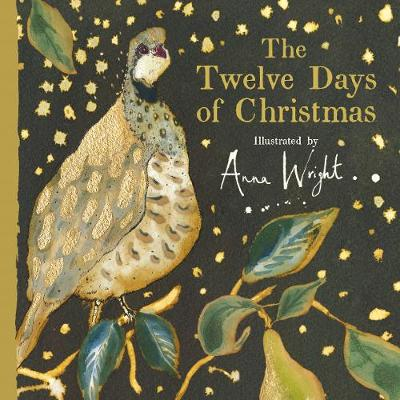 Cover for The Twelve Days of Christmas by Anna Wright
