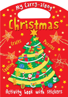 My Carry-along Christmas Activity Craft Book with Stickers by Jocelyn Miller