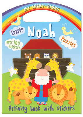 Cover for My Carry-Along Noah Sticker Activity Book by Jocelyn Miller