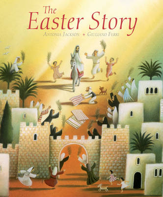 Cover for The Easter Story by Antonia Jackson
