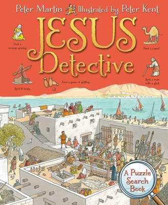 Jesus Detective A Puzzle Search Book by Peter Martin