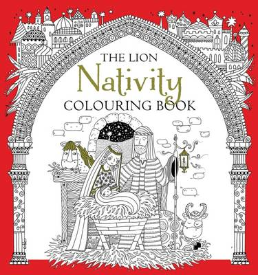 Cover for The Lion Nativity Colouring Book by Antonia Jackson