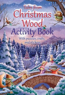 Cover for Tales from Christmas Wood Activity Book by Suzy Senior