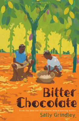 Cover for Bitter Chocolate by Sally Grindley