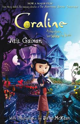 Coraline (film tie-in edition) by Neil Gaiman