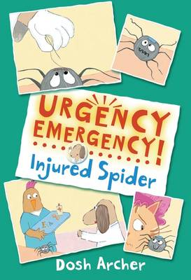 Urgency Emergency! Injured Spider by Dosh Archer
