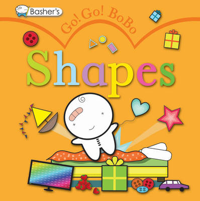 Cover for Go! Go! Bobo! Shapes by Simon Basher