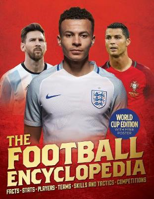 Cover for The Kingfisher Football Encyclopedia by Clive Gifford