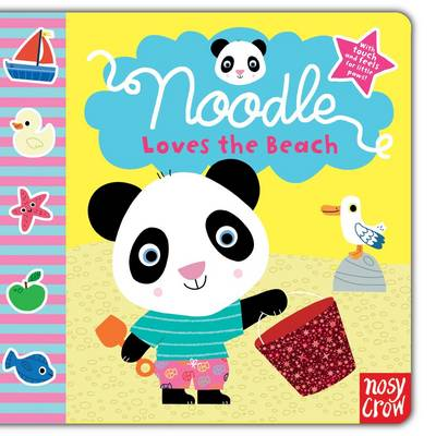 Noodle Loves the Beach by Marion Billet