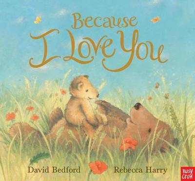 Cover for Because I Love You by David Bedford