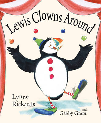 Cover for Lewis Clowns Around by Lynne Rickards